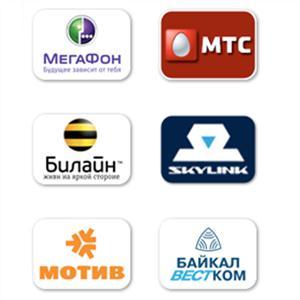 Операторы сотовой связи Удельной